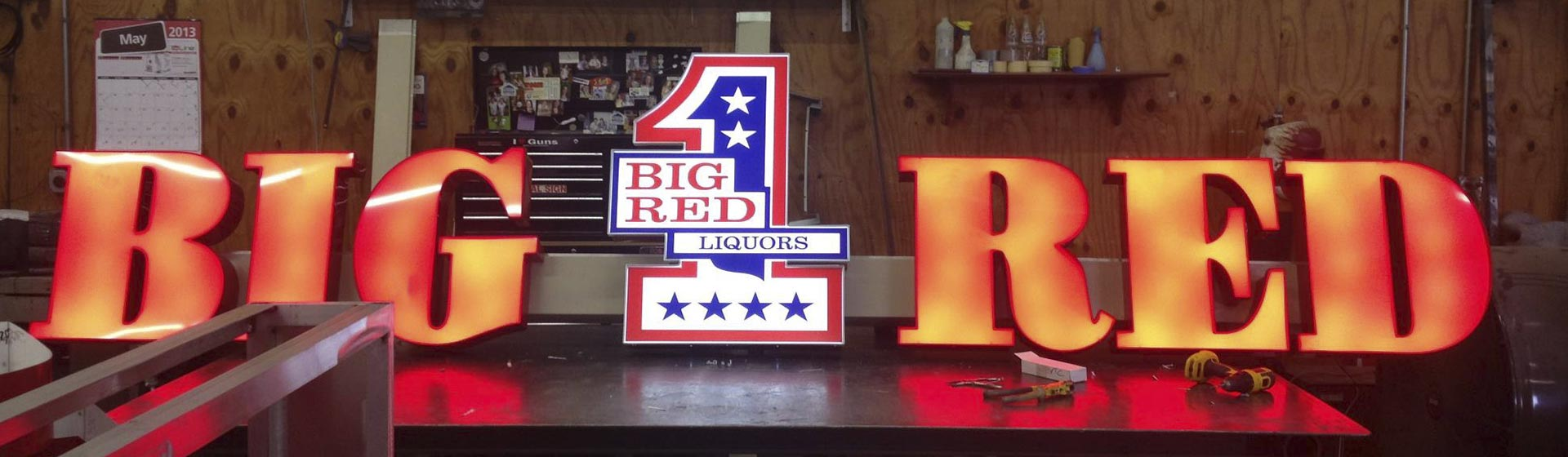 About Big Red Liquors