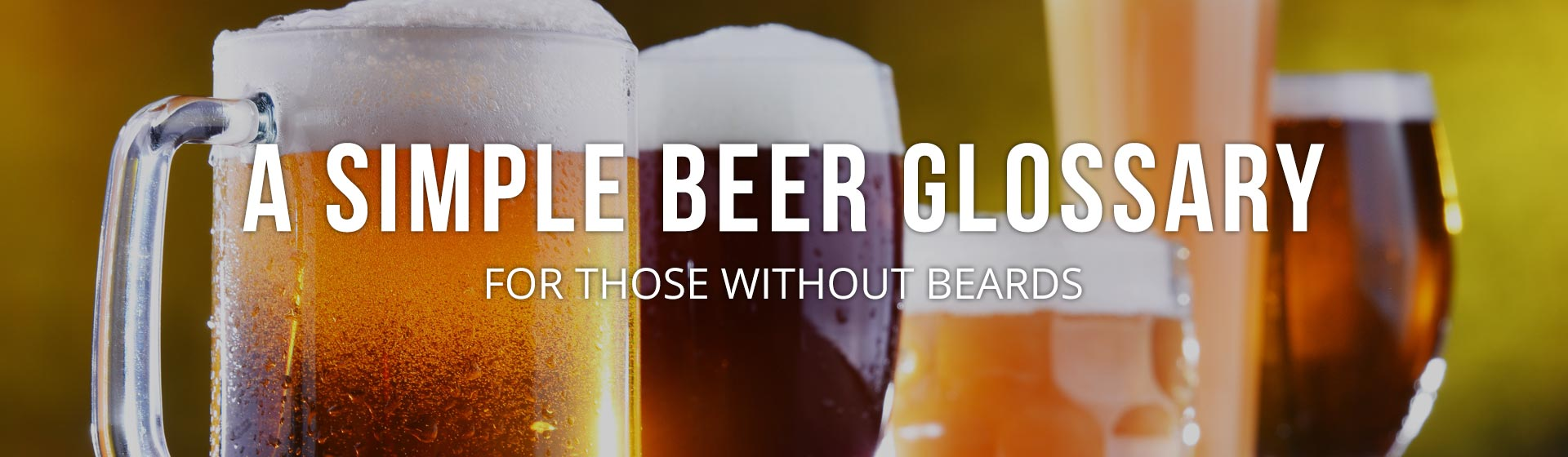 Beer Glossary